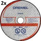 Dremel falazat vágókorong 2db/csom DSM520