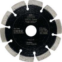 Gyémánt vágótárcsa 125mm (abrazív) Dongah LDCA-125